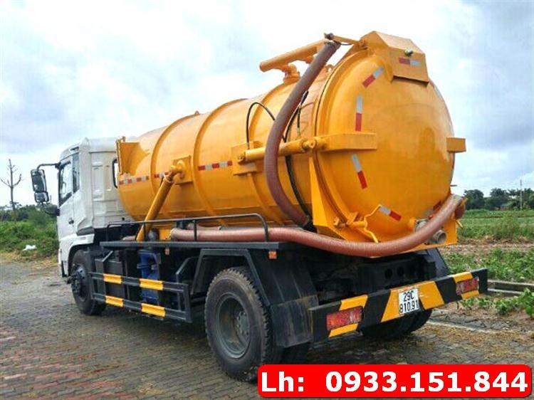 Xe hút hầm vệ sinh Hà Tĩnh chuyên dụng